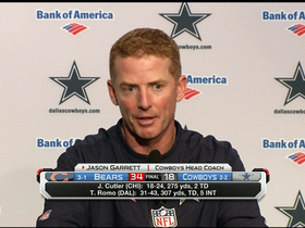 Video - Jason Garrett: Turnovers were the story