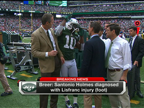 Video - Holmes out for the season