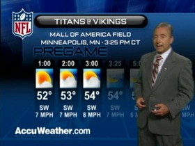 Video - Weather update: Titans  @ Vikings