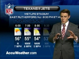 Video - Weather update: Texans  @ Jets
