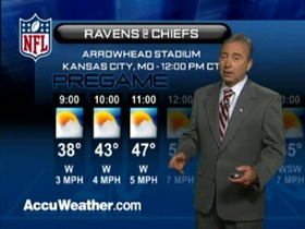 Video - Weather update: Ravens  @ Chiefs