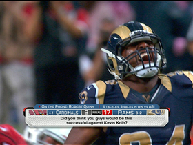 Video - St. Louis Rams defensive end Robert Quinn talks about a big Thursday night win