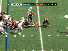 Video - Cincinnati Bengals cornerback Terence Newman fumble recovery
