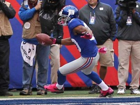 Video - New York Giants wide receiver Victor Cruz 3-yard TD