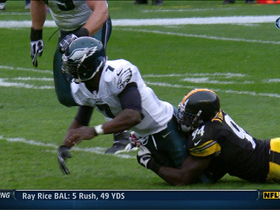 Video - Pittsburgh Steelers linebacker Larry Foote's second fumble recovery