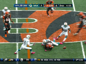 Video - Cincinnati Bengals wide receiver Armon Binns fumble