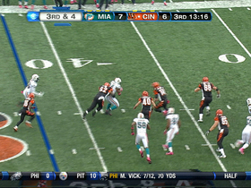 Video - Cincinnati Bengals quarterback Andy Dalton INT
