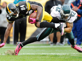 Video - Philadelphia Eagles safety Kurt Coleman steals Antonio Brown's shoe