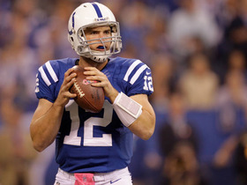 Video - Indianapolis Colts quarterback Andrew Luck's game-winning drive