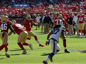 Video - Buffalo Bills recover Colin Kaepernick fumble