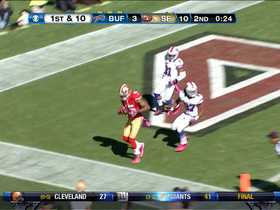 Video - Michael Crabtree 28-yard touchdown catch