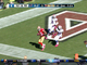 Watch: Crabtree 28-yard touchdown catch