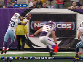 Video - Titans pick off Ponder