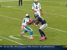Video - Browner forces and recovers fumble