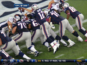 Video - Brady's reaching TD