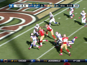 Video - Colin Kaepernick 16-yard touchdown run
