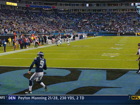 Video - Panthers force safety