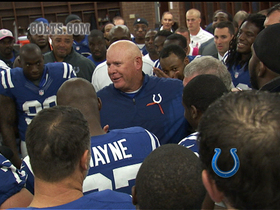 Video - Inside an emotional Indianapolis Colts locker room