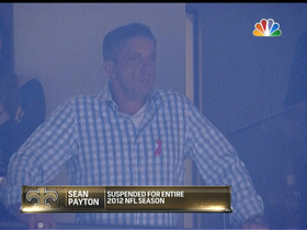 Video - Payton present for Brees' special night