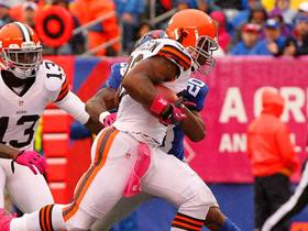 Video - Cleveland Browns running back Trent Richardson 15-yard TD