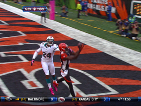 Video - Cincinnati Bengals wide receiver A.J. Green TD catch