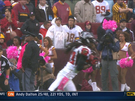 Video - Robinson picks off Cousins