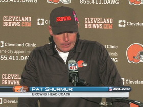 Video - Browns postgame press conference