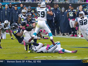 Video - Kuechly gets first career pick