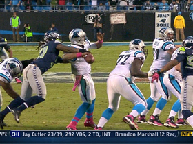 Video - Irvin forces fumble to seal victory