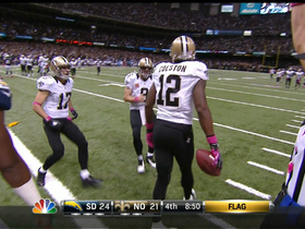 Video - Colston gets his third TD