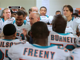 Video - Miami Dolphins ecstatic in locker room after win