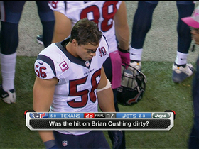 Video - Was hit on Cushing dirty?