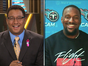 Video - 'NFL AM' welcomes in Tennessee Titans safety Jordan Babineaux