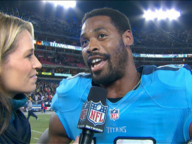 Video - Kenny Britt postgame interview