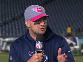 Video - Matt Hasselbeck joins postgame set