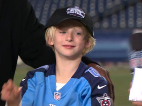 Video - Christmas comes early for Henry Hasselbeck