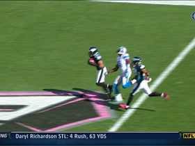 Video - Philadelphia Eagles cornerback Nnamdi Asomugha's interception