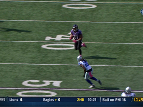 Video - Baltimore Ravens running back Ray Rice 43-yard reception