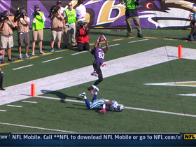 Video - Baltimore Ravens wide receiver Torrey Smith 19-yard touchdown