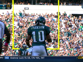 Video - Philadelphia Eagles wide receiver DeSean Jackson's 30-yard reception