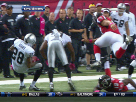 Video - Oakland Raiders get in their own way on punt return