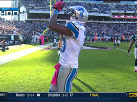 Video - Detroit Lions wide receiver Nate Burleson 17-yard touchdown