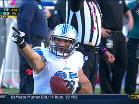 Video - Detroit Lions quarterback Matthew Stafford's 57-yard completion