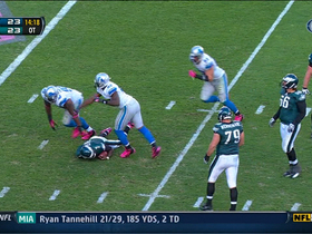 Video - Vick's back-to-back sacks