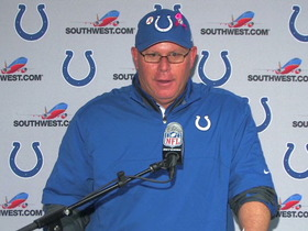 Video - Colts postgame press conference