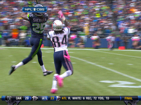 Video - Sherman picks off Brady