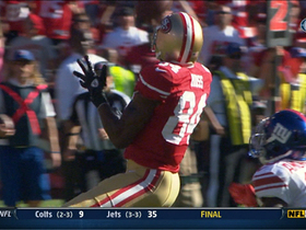 Video - Moss 55-yard catch