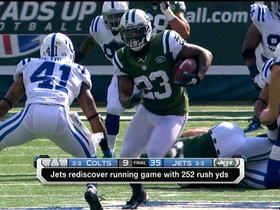 Video - Jets run over Colts