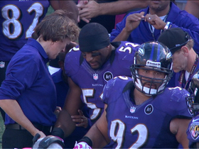 Video - Ray Lewis injured