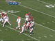 Watch: Weeden picked off